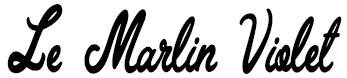 Le Marlin Violet