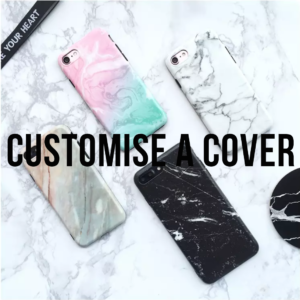 CUSTOMISE A COVER