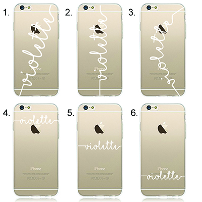 cheaper 7e6f4 94002 Customised Phone Case: Personalised Name Font Series